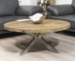 """Runder Couchtisch aus Holz Serie """"Eternia"""""""